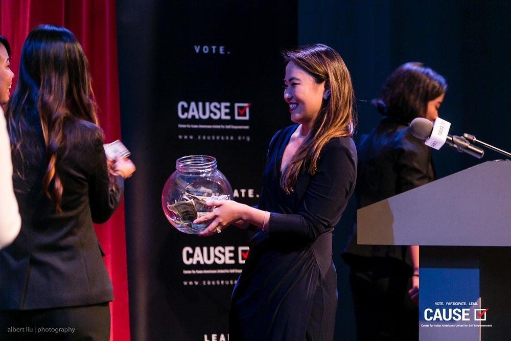 Kim Yamasaki at the 2017 CAUSE Leadership Academy Graduation