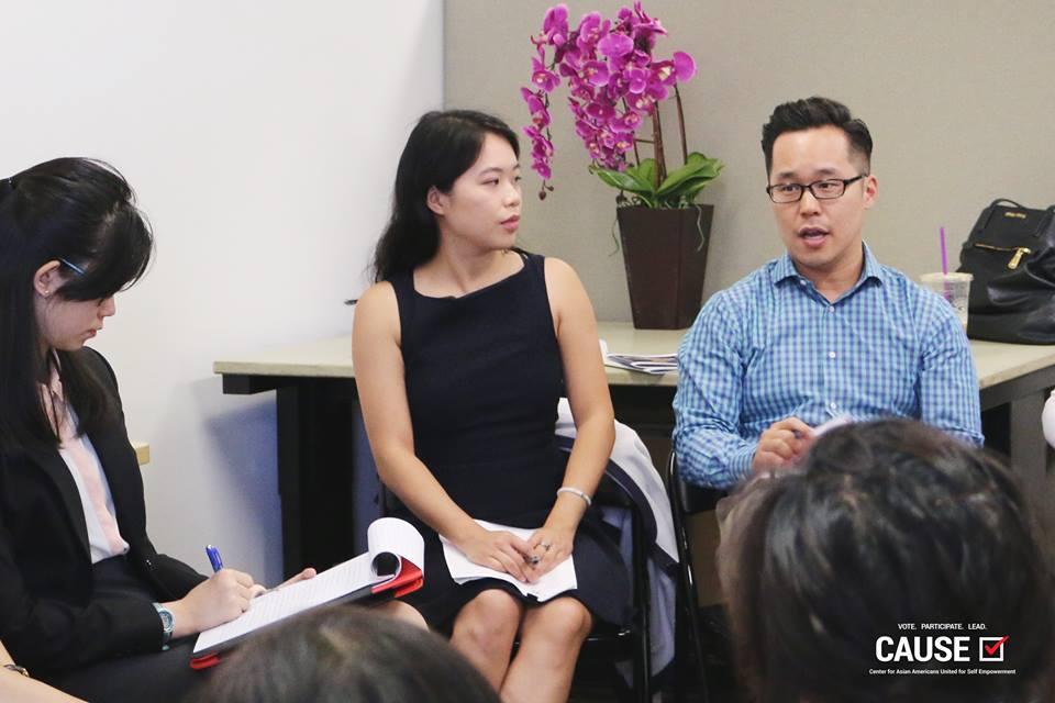 John Yi speaking to the 2017 CAUSE Leadership Academy