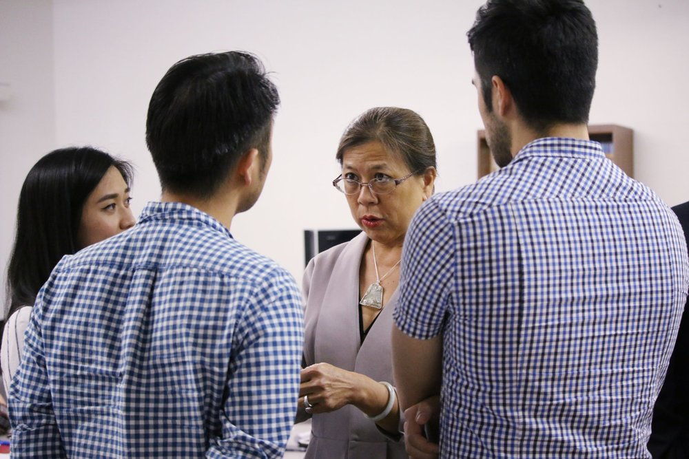 Betty Yee speaking to the 2017 CAUSE Political Institute