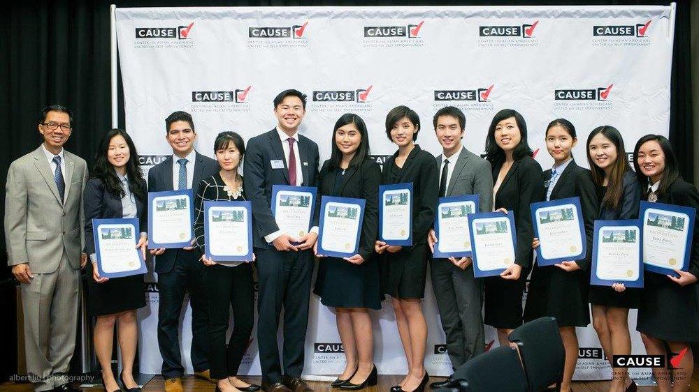 Ed Chau with the 2016 CAUSE Leadership Academy