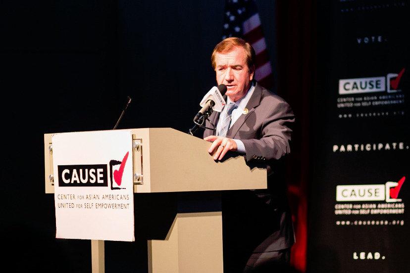 Ed Royce speaking at the 2016 CAUSE Leadership Academy Graduation