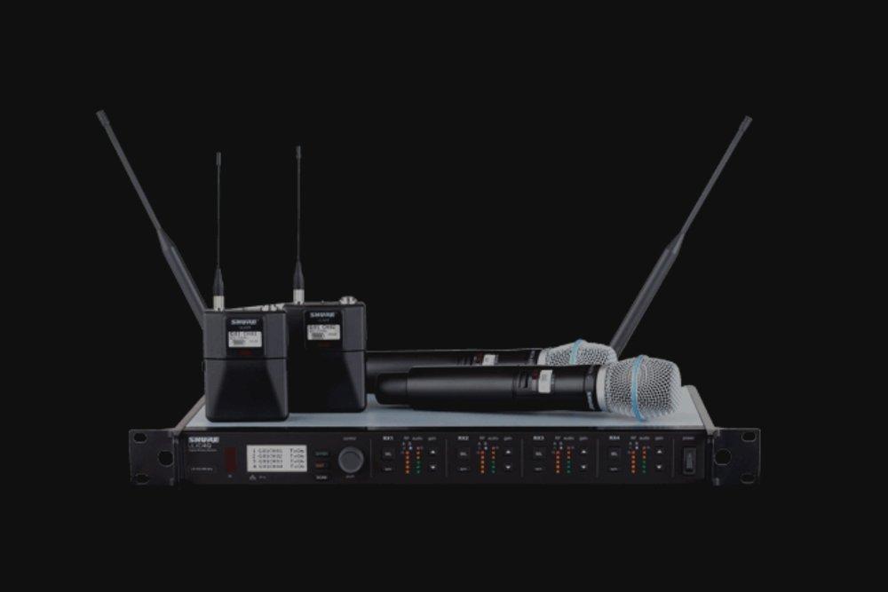 Wireless Microphone Management