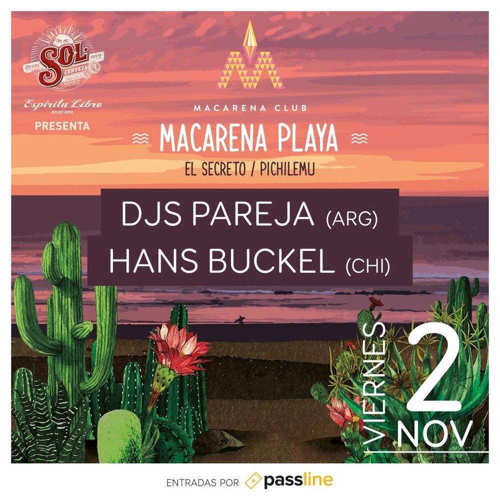 Musica Macarena @ Pichilemu