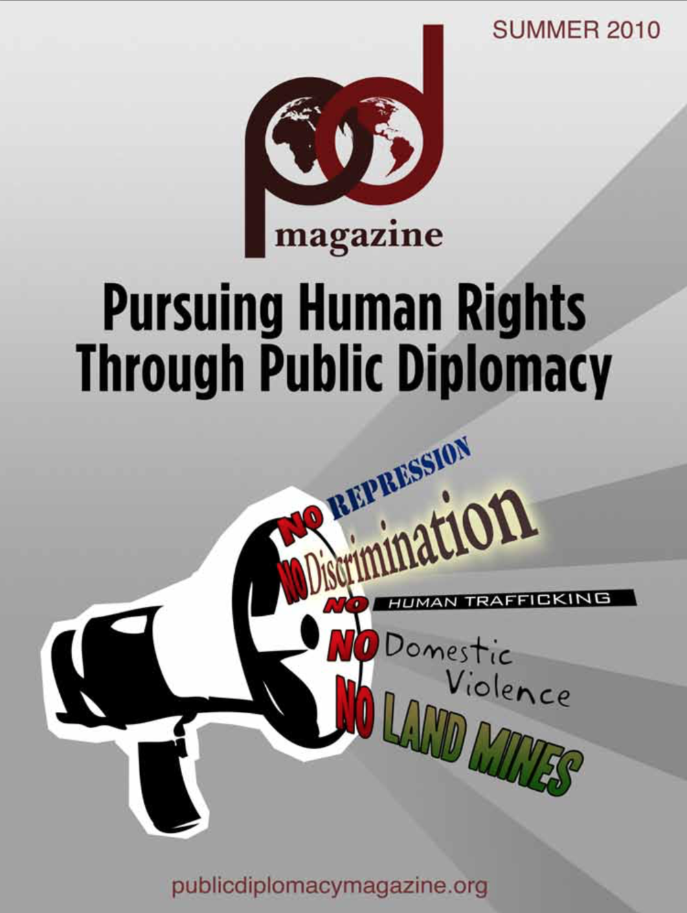 Human Rights and Public Diplomacy