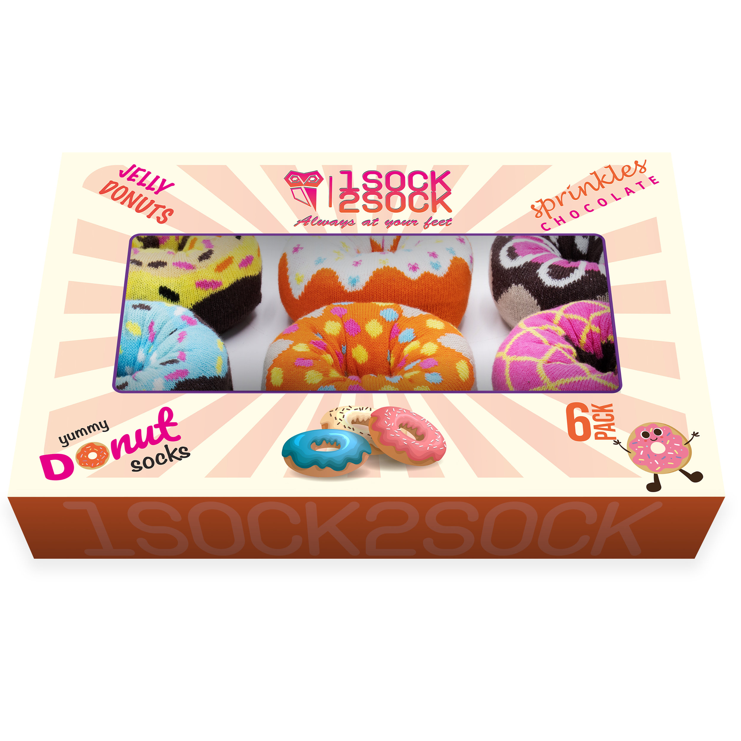 I Donut Know How to Thank You Boxed Set of 6 Donut Thank You Cards