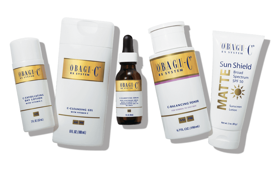 obaji products, academic alliance in dermatology products, skincare products, obagi medical