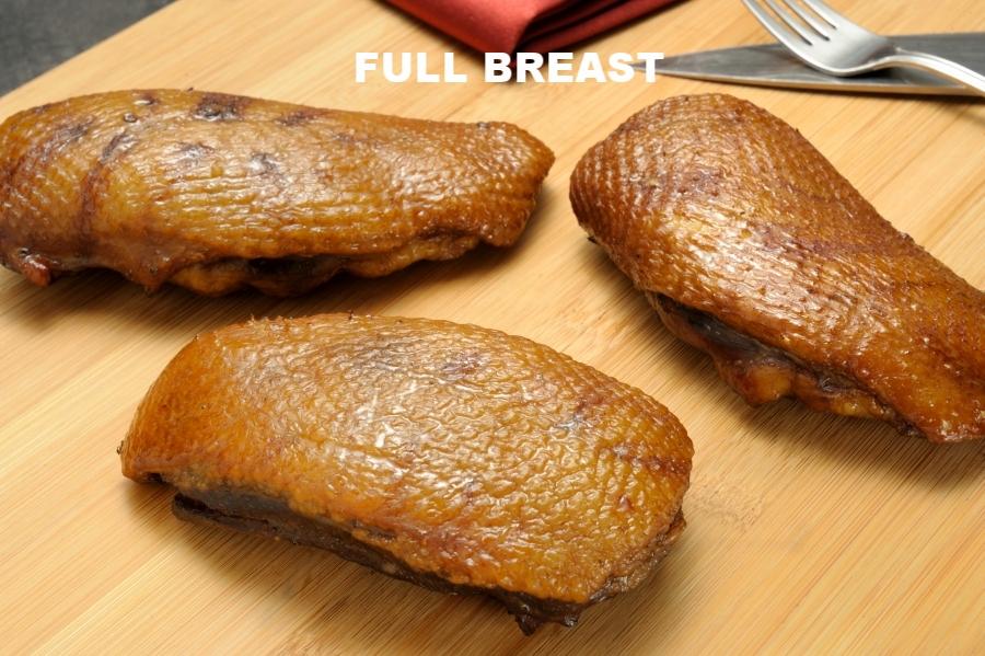 SMOKED FULL DUCK BREAST
