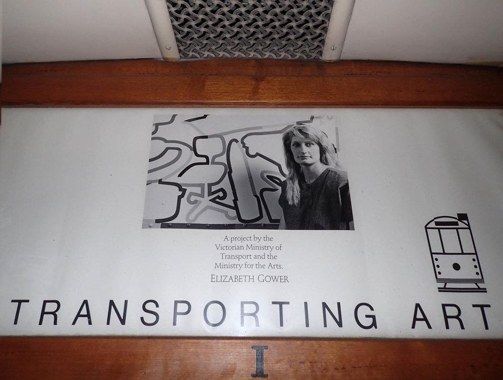 GOWER sign inside tram 1988.jpg