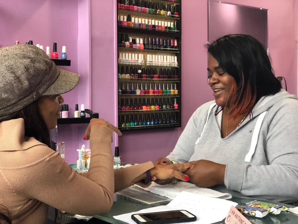 Blow Hair and Nail salon