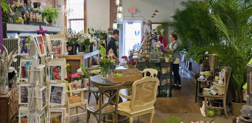Urban Orchid floral design and gallery