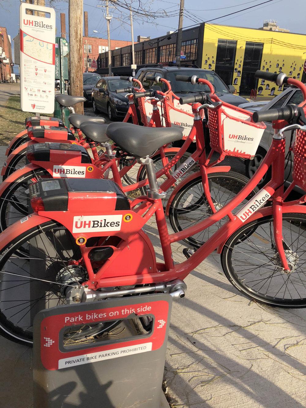 UH Bikes bikeshare program