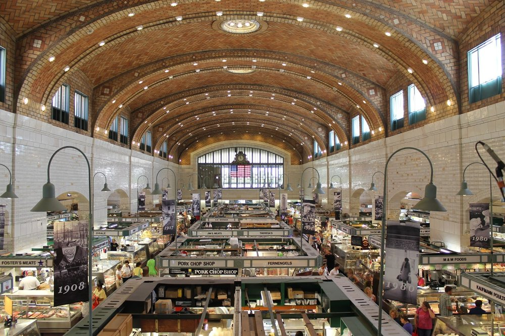 The historic West Side Market