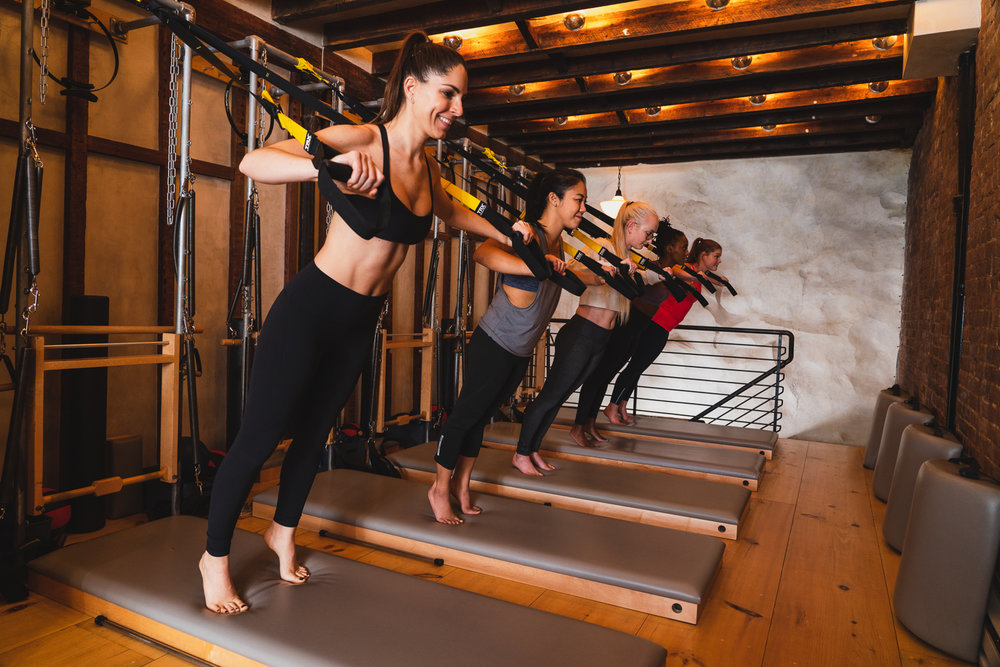 BOOK A CLASS - Whether you're looking for a sweaty cardio session or a strength building workout, find everything you need in one location.