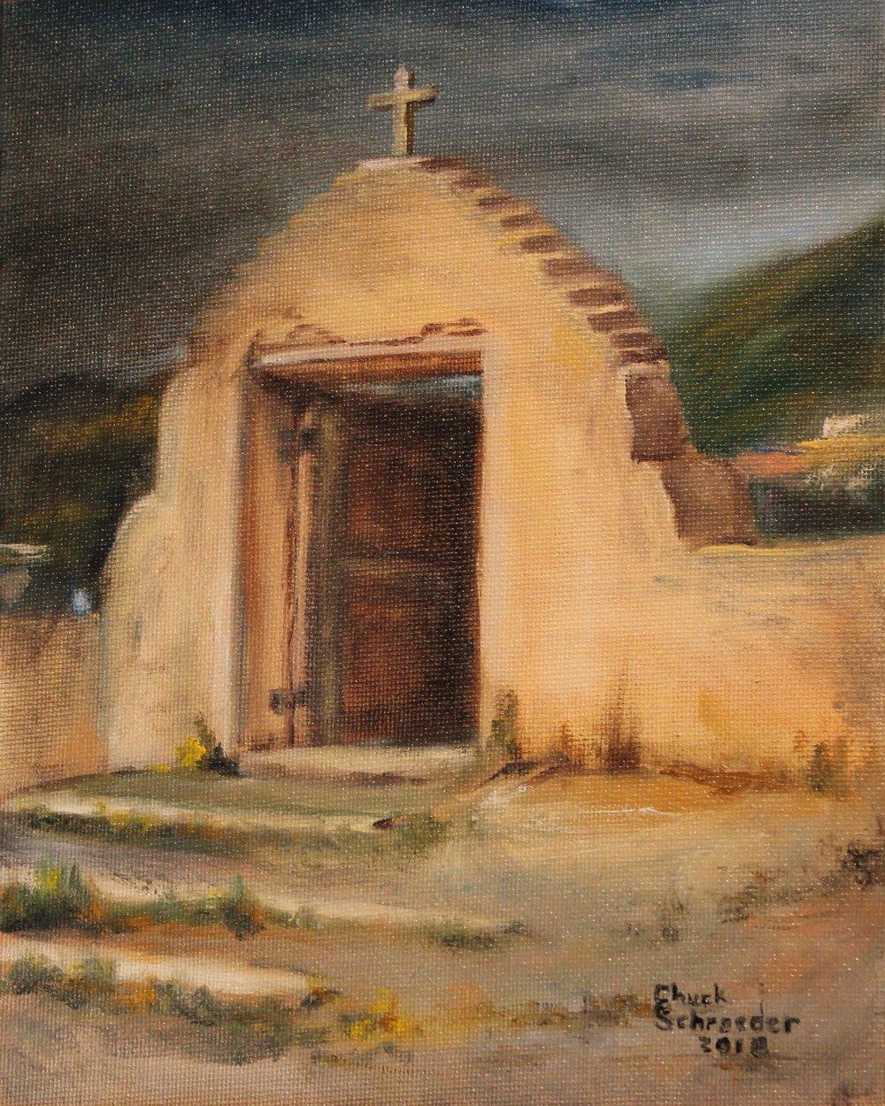 Gate at Los Trampas v. 3.JPG