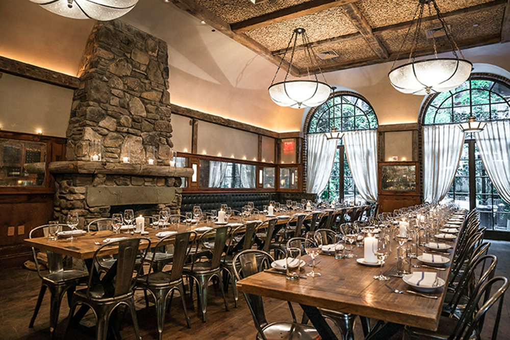 Locanda Verde - The waits are long at Andrew Carmellini's Tribeca destination. It's famous for its rustic Italian fare and ambiance.