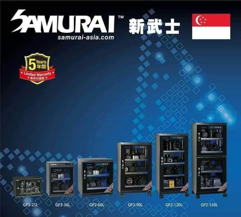 Digital Dry Cabinets with volumes ranging froM : 25L/36L/60L/90L/120L/150L -