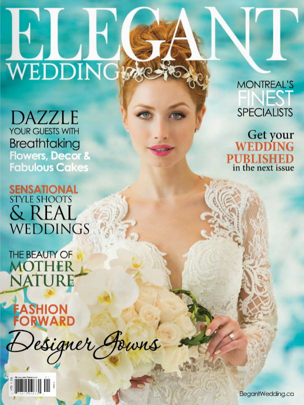 Elegant Wedding Magazine Feature 2017