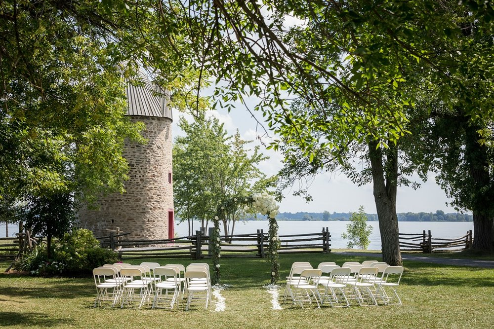 Natural Outdoor Wedding Ceremony Arch Pointe-du-Moulin - Ile Perrot