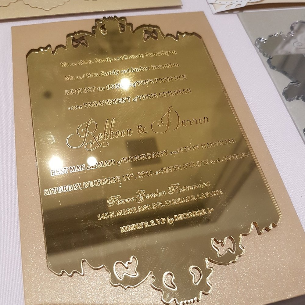 Gold Mirror Acrylic Wedding Invitations Montreal.jpg