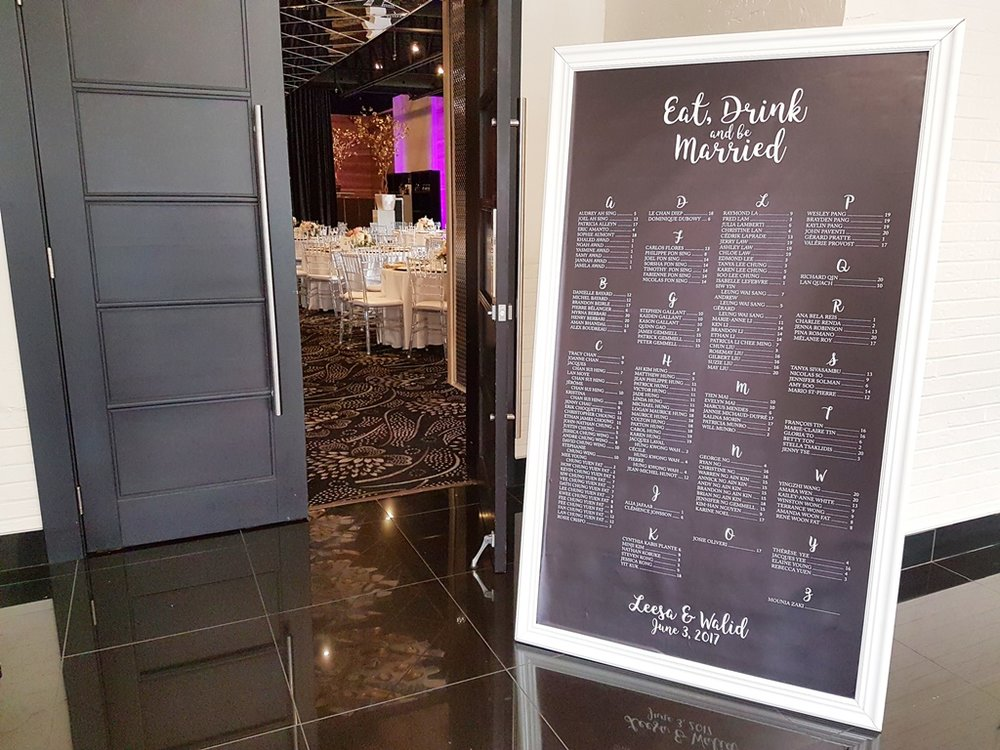 Floor Length 6 feet Wedding Reception Seating Chart.jpg