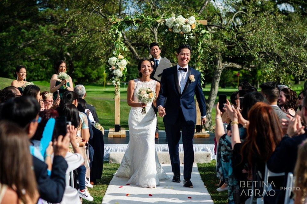 Peach Rustic Wedding at Elm Ridge Golf & Country Club Ile Bizard Montreal Ceremony Bride Groom N+J09.jpg