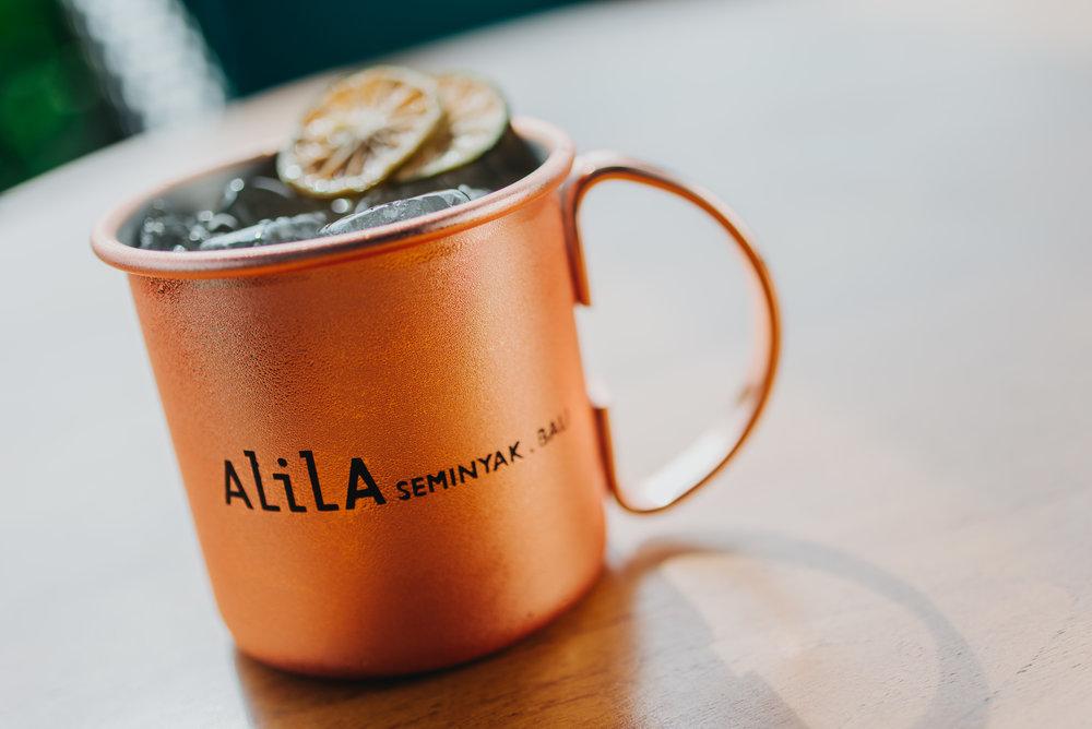 Alila Seminyak - Beach Bar - Moscow Mule.JPG
