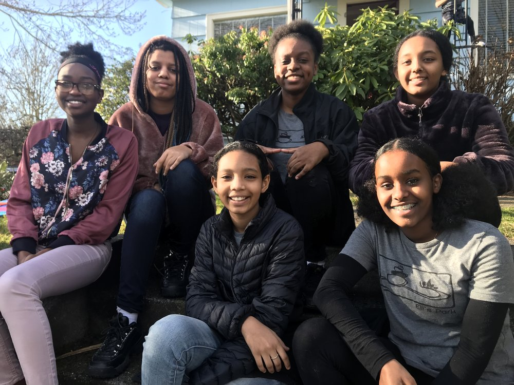 Natalina, Levancia, Trenesia, Meklet, Bethel, and Kissehanet wrote the above collaborative piece after coming together as the Teen Advisory Team for  The Eli's Park Project . They are students at Roosevelt High School in NE Seattle.
