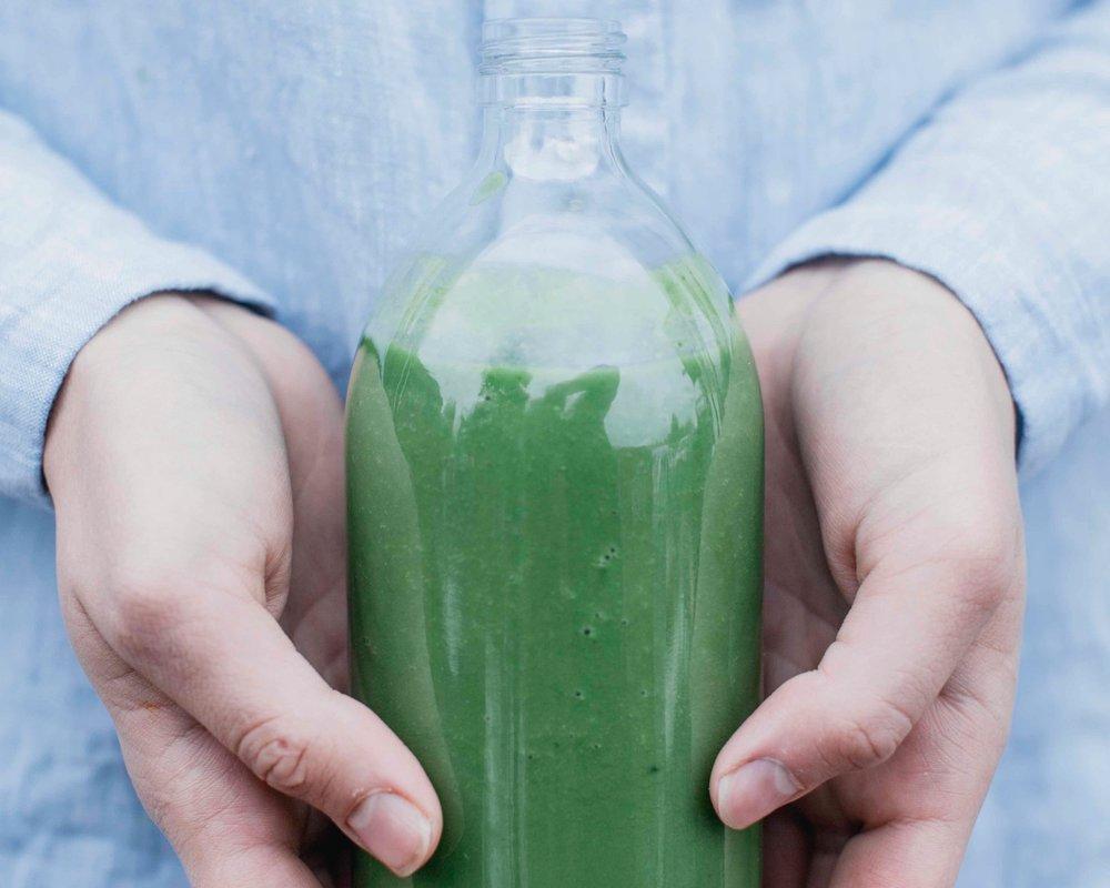 Juice Bag - - 5 Fruit & Vegetable Juices-Fresh Tea-Ginger Shots