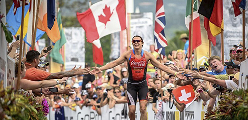 RACHEL JOYCE - Ironman ChampionITU Long Distance World Champion