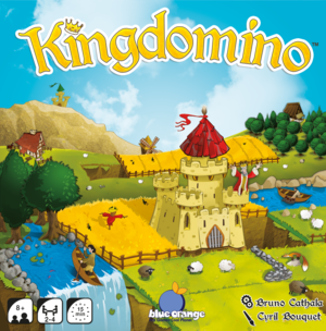Kingdomino - Build a charming kingdom by drafting land dominoes.2-4 playersclick for details