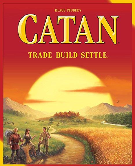 Catan - Build a flourishing society on the island of Catan.2-4 players