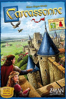 Carcassonne - Found the historic city of Carcassonne in the scenic south of France.2-5 players