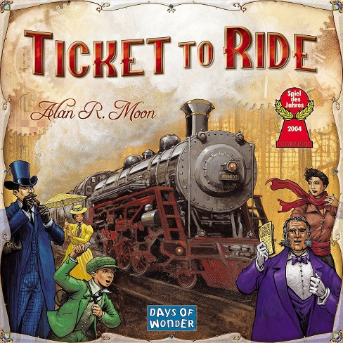 Ticket to Ride - Assemble a train route that spans the entire country.2-4 players