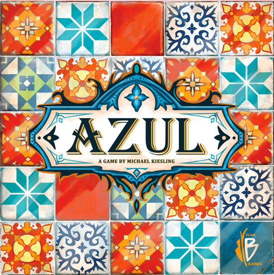 Azul - Decorate the king's palace with beautiful tiles.2-4 players