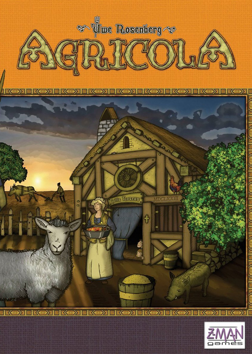 Agricola - It's not easy being a farmer in the 17th century1-5 players