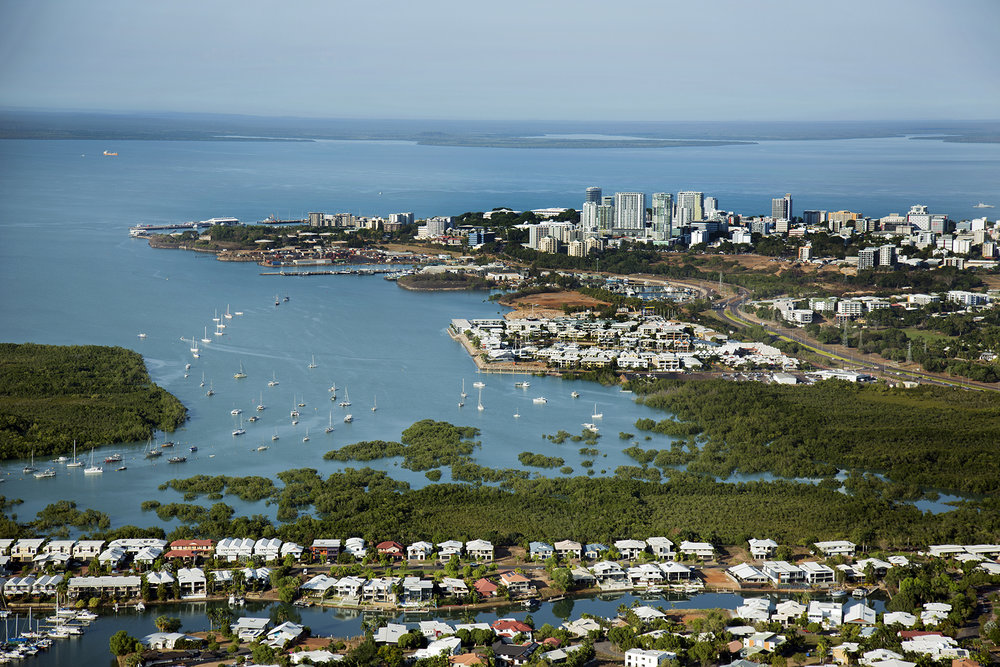 NGphotographics - Aerial Darwin City