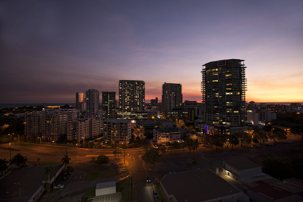 NGphotographics - Darwin CBD Sunset