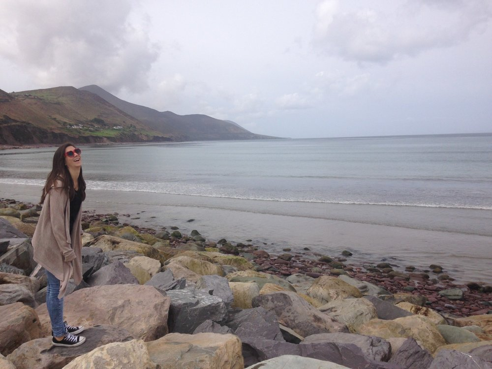Glenbeigh beach Ireland at the Ring of Kerry