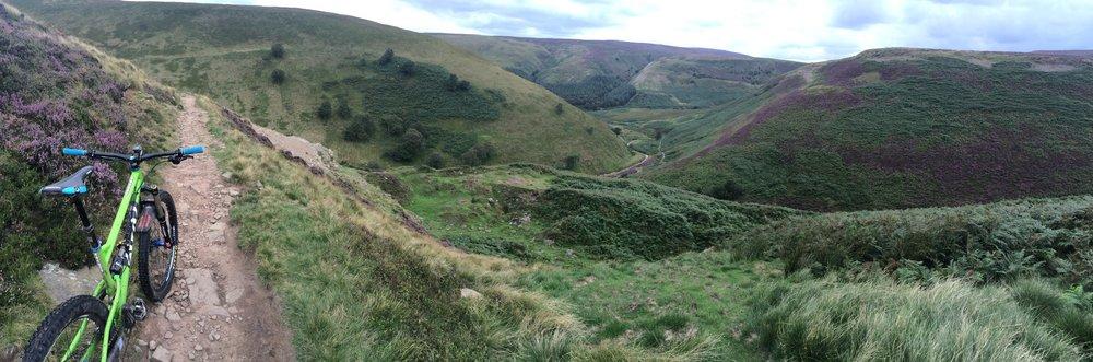 Overlooking Cranberry Clough