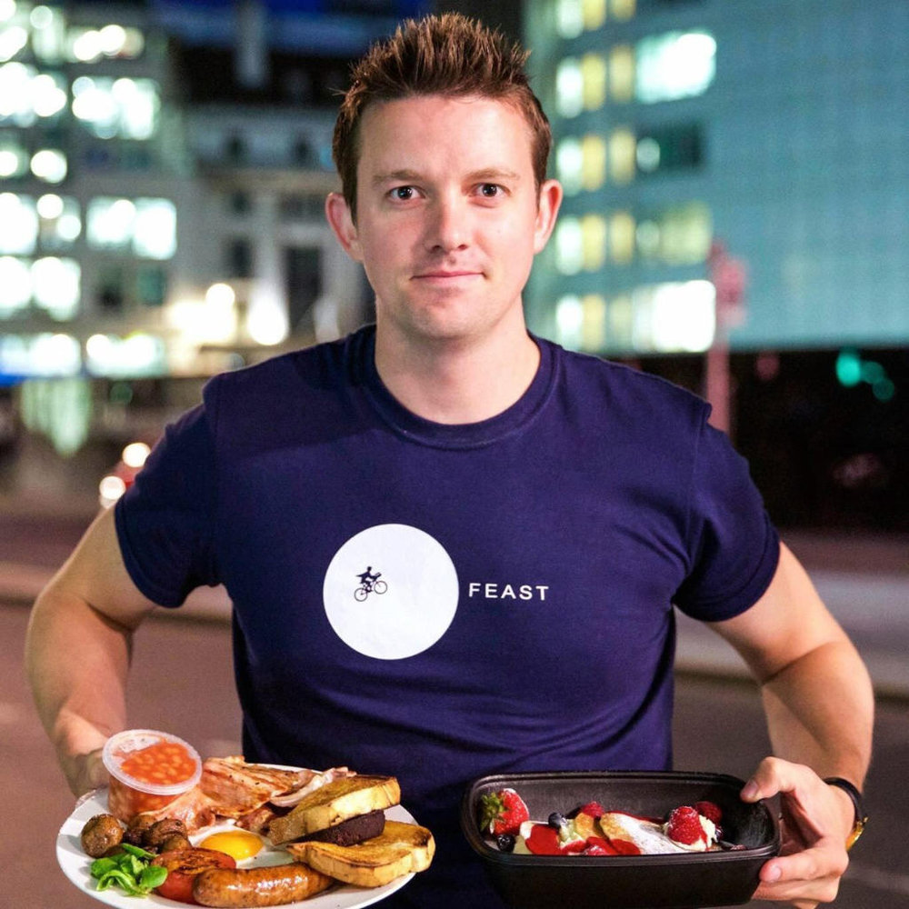 """I need somewhere that I can talk on the phone at 2am and not disturb people."" Simon Pewsey, Founder of Feast HQ"