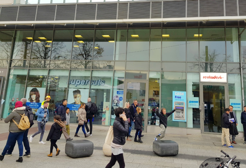 Rentadesk is conveniently located seconds from Shepherds Bush Tube Station, West London W12
