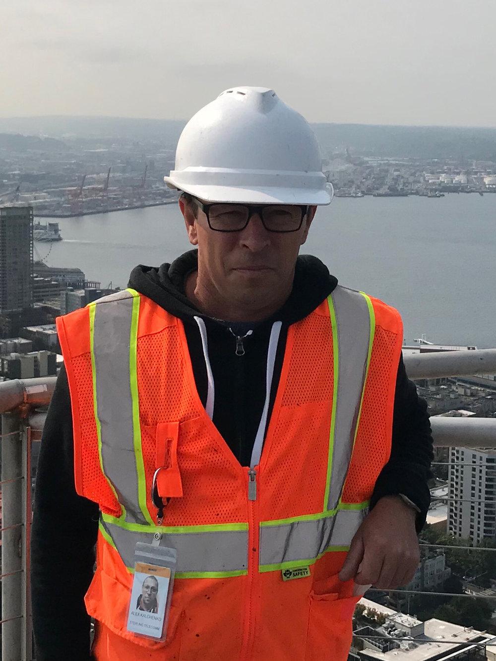 Oleksandr Kalchenko - Tower Technician