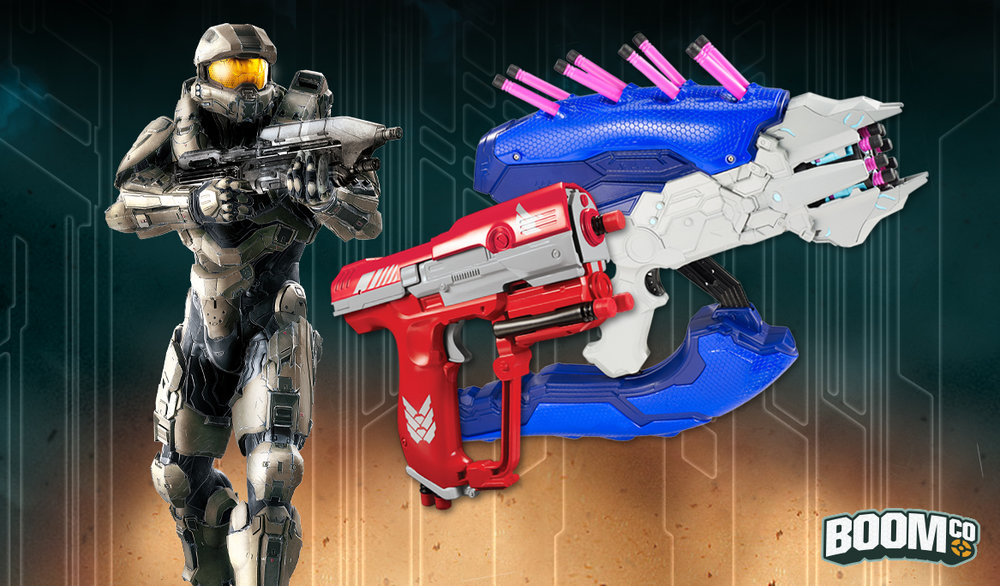 CLICK THROUGH FOR SOME PRESS ON THE BOOMCO/HALO BLASTERS