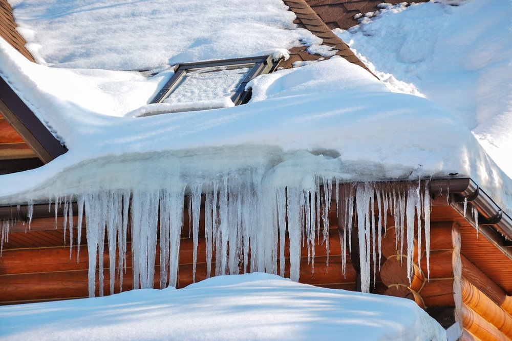 SNOW & ICE DAMAGE - Heavy snow and ice dams are very common in New England. They can cause  significant exterior and interior damage to your home or business.