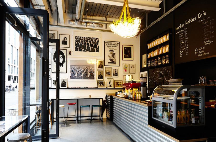 Hunter Gather - cafe design