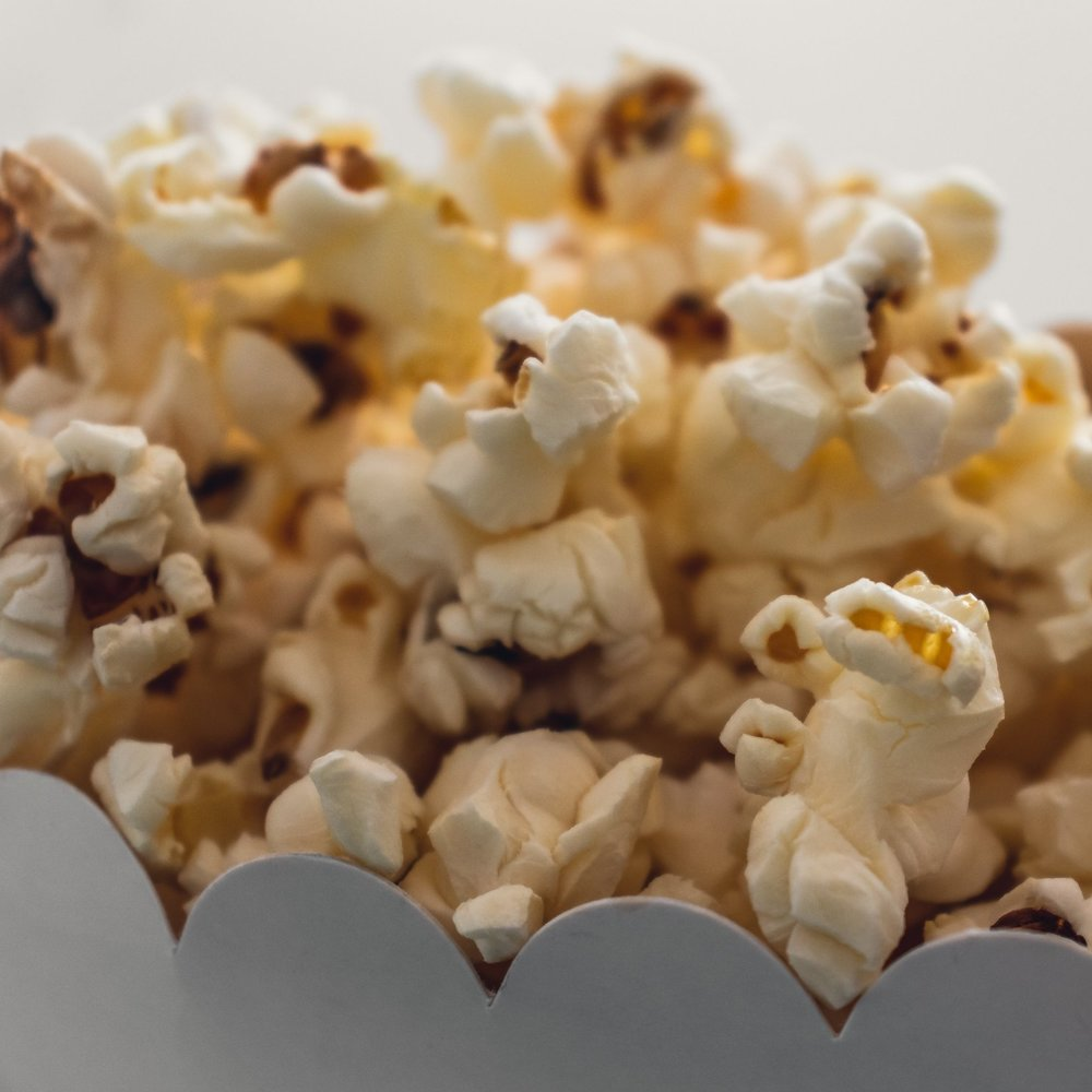 Popcorn Bar  Set your next celebration apart with a Caramel Kettle Popcorn Bar. Let us help you plan how much you'll need, choose flavors and colors, and we'll do the rest. Our jumbo bags will serve a crowd — you just need to style it to fit your event.
