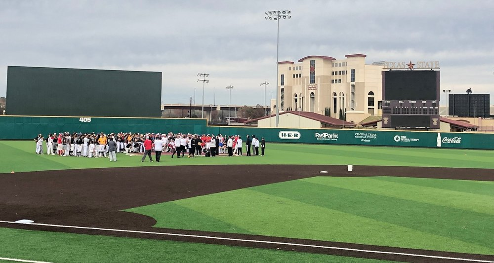 400+ players at our initial tryouts for the Canes Southwest Elite Summer Showcase Teams!  December 16, 2018 - Texas State University