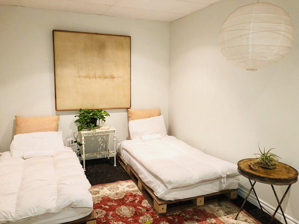 Moss Room ~ 3 single beds