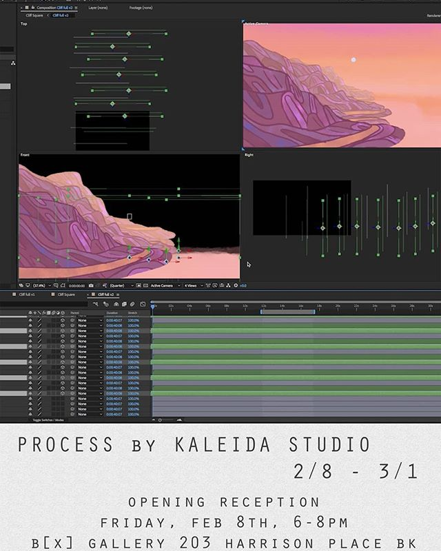 This Friday! Small #behindthescenes + #animation + #augmentedrealityart show at @bxspaces in Brooklyn!  We'll be showing AR animation work by our kaleida family and friends. ANNDD alongside each piece will be the behind-the-scenes process to show how the animation was made!  Come hang!! Wine + snacks + hugs + art 💗🧙♀️ All augmented reality magic thanks to our friends at @artiviveapp 😻  #ar #animationlife #galleryopening #augmentedreality #artiviveapp #artivive #madeinbrooklyn