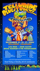 Telluride Blues & Brews Festival | 2006 Poster